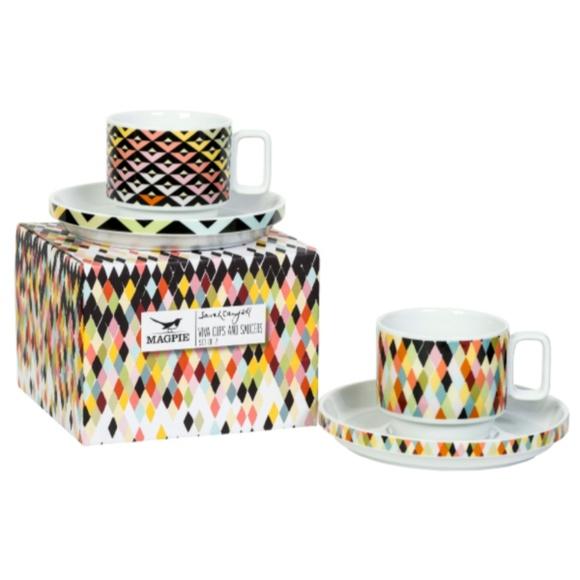 Magpie & Jay Other - Viva Tea / Coffee Set